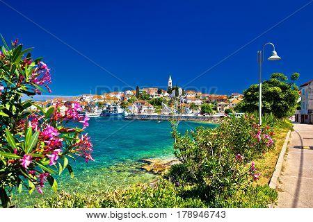 Turquoise Waterfrontof Ugljan Island And Kali