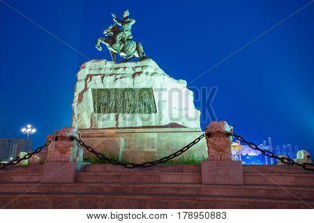 Damdin Sukhbaatar Monument, Ulaanbaatar
