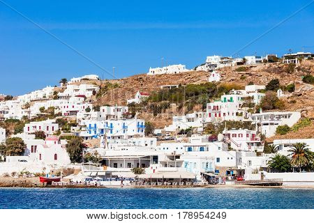 Mykonos City Harbour, Greece