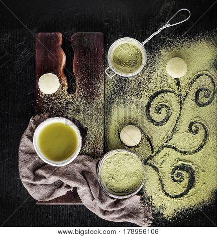 Matcha And Green Tea