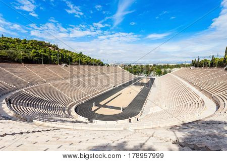 Panathenaic Stadium Also Kallimarmaro