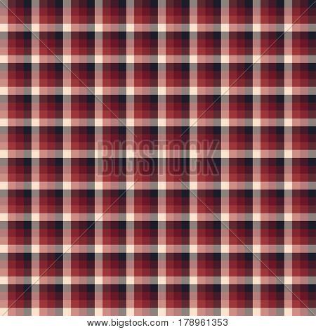 Tartan, plaid seamless pattern. Textured plaid vector