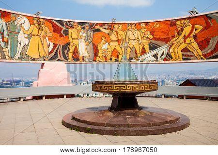 Zaisan Memorial Ulaanbaatar, Mongolia