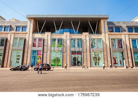 Shopping Mall In Baku