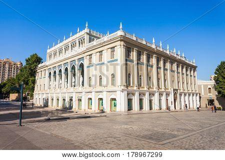 Nizami National Museum, Baku