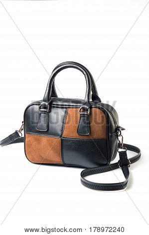 Leather Women Bag Isolated