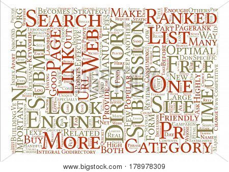 Read This Before you Submit to Web Directories text background wordcloud concept