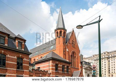 Cityscape in Brussels Europe - landmark of Brussels
