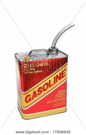 gasolina de metal