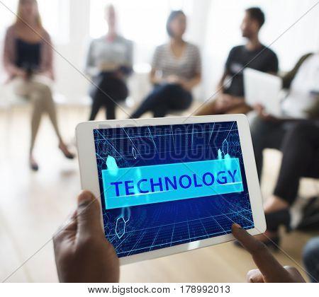 Technology Netoworking Binary Code Computer Language