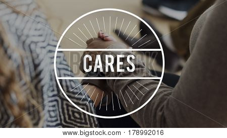 Live To Give Care Concept
