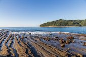 Nichinan coastline from Phoenix viewpoint in Miyazaki Kyushu Japan. poster