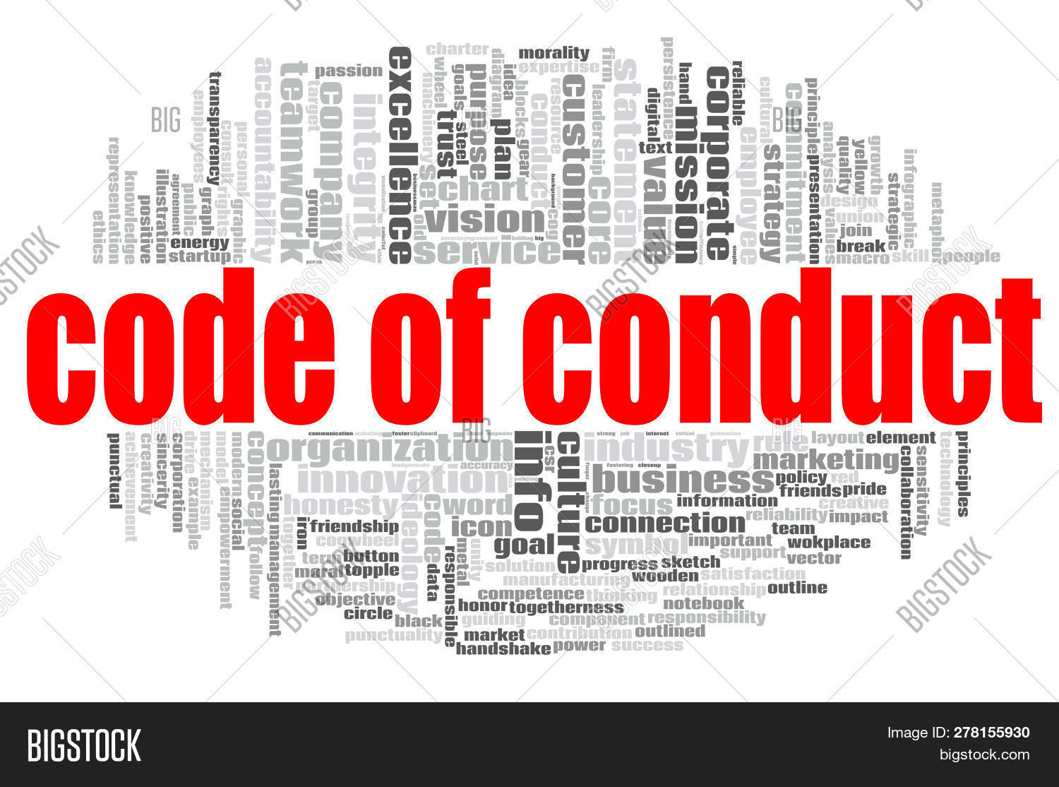 Code Conduct Word Image & Photo (Free Trial) | Bigstock