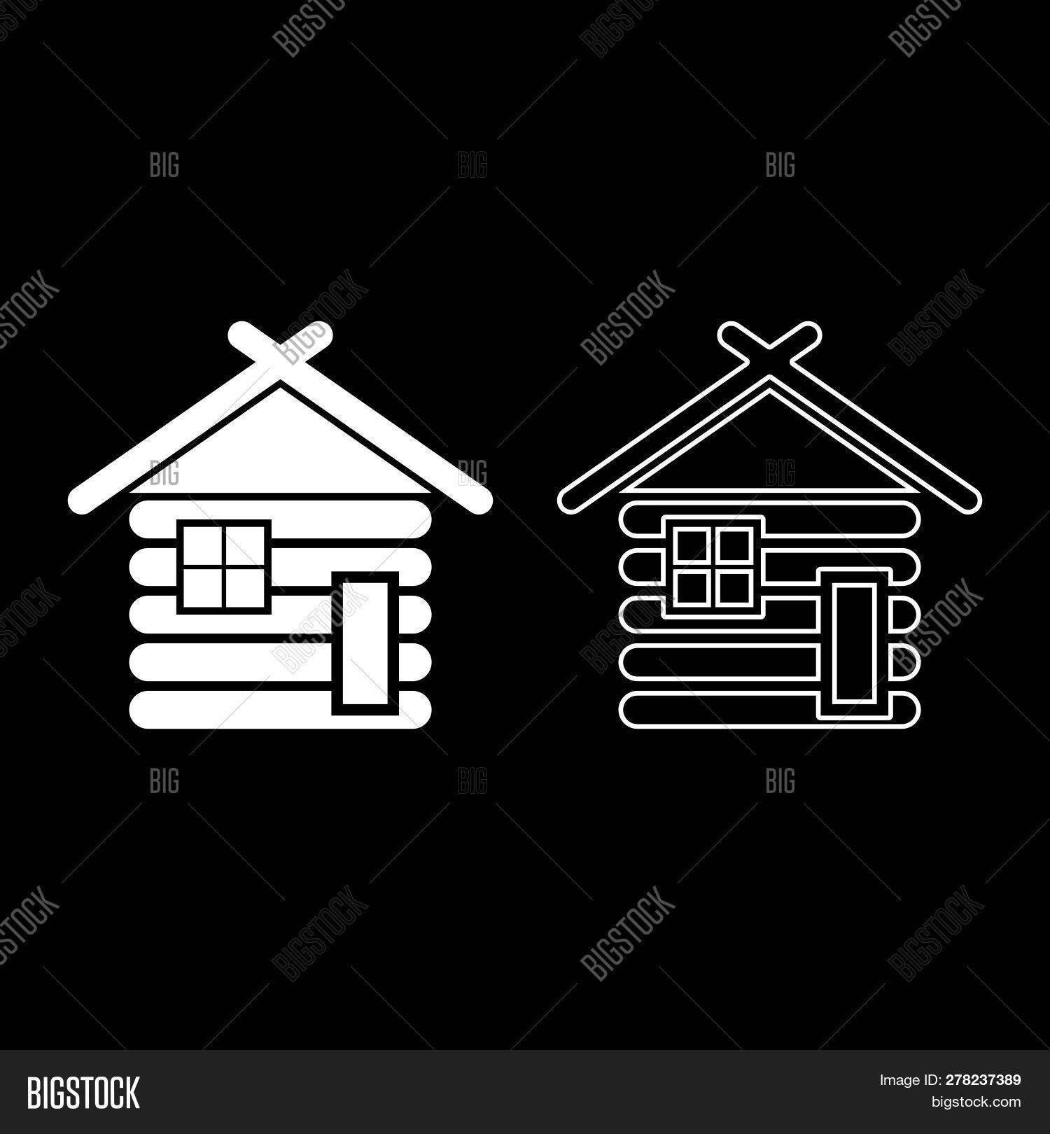 Wooden House Barn Vector & Photo (Free Trial) | Bigstock