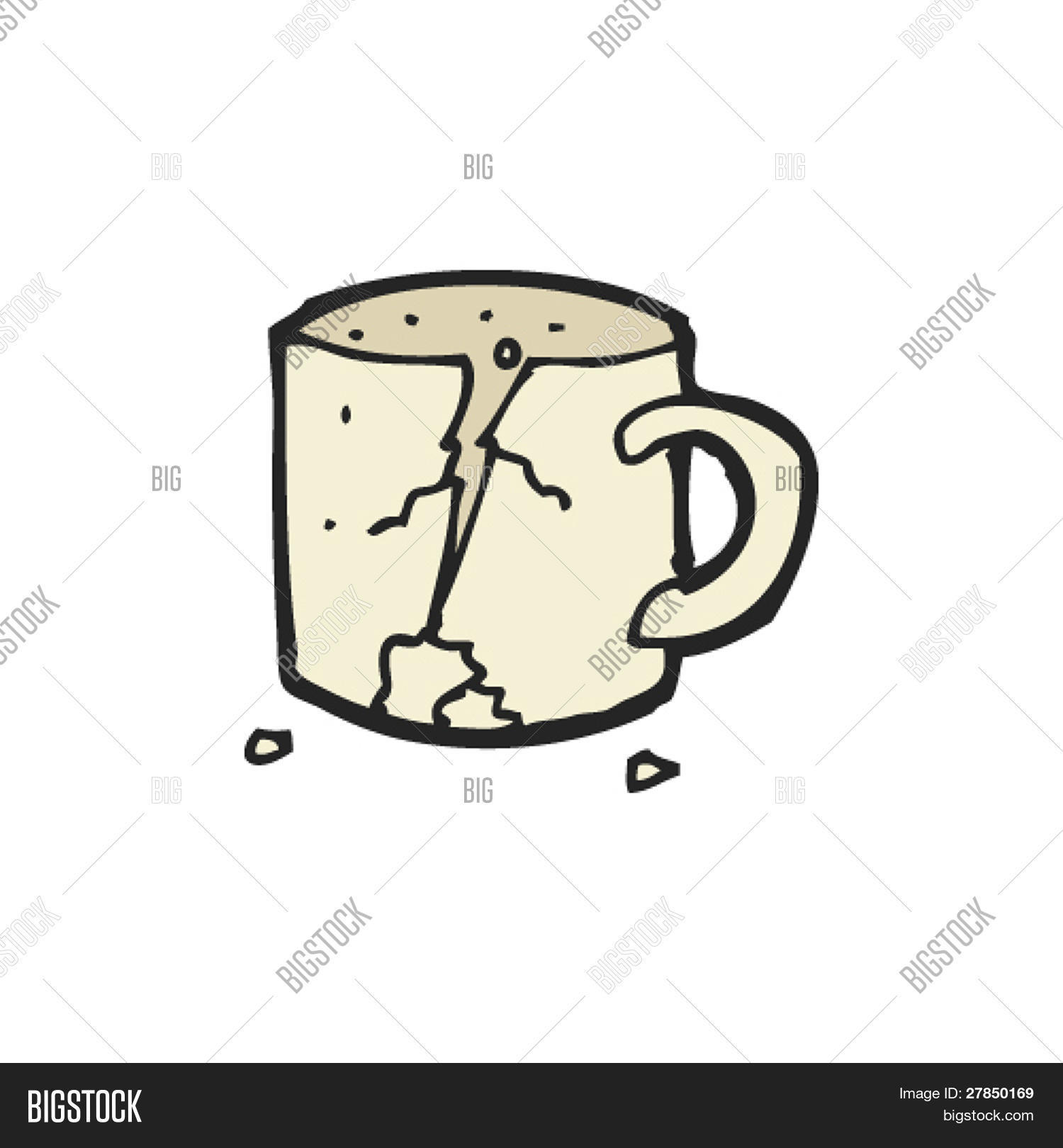 Quirky Drawing Broken Vector Photo Free Trial Bigstock