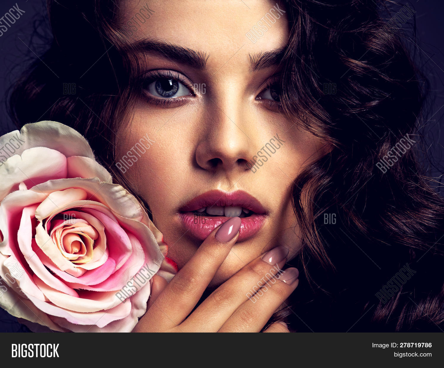 Beautiful Face Young Image Photo Free Trial Bigstock