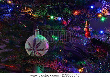 Traditional Czech Christmas Decorations, South Bohemia, Czech Republic