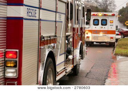 Firetruck And Ambulance