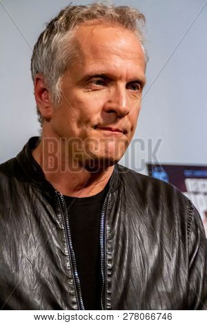 Patrick Fabian attends the world premiere of