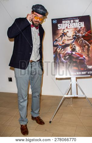 Charles Halford attends the world premiere of