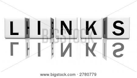 Dice White Links