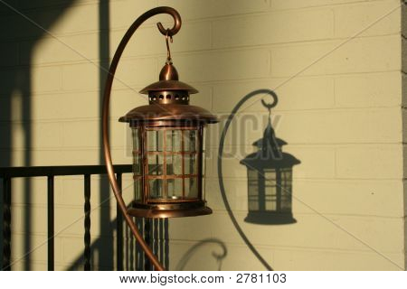 Lantern And Shadow