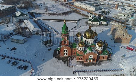Kazakhstan, East Kazakhstan, Ust-kamenogorsk, Church, Eternal, Beauty, Architecture, Religion, Ortho