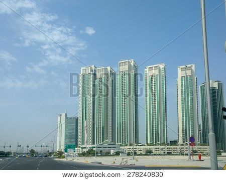 View Of Al Reem Island Marina Towers And Skyscrapers Residential Area In Abu Dhabi City - Abu Dhabi,