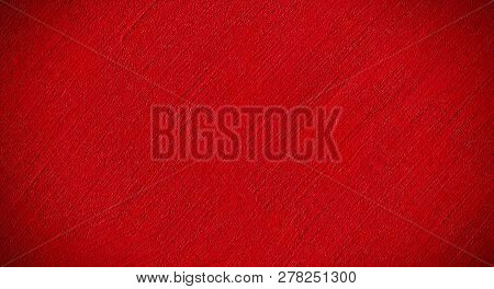 Bright Grunge Decorative Red Background. Abstract Background With Diagonal Striped Pattern. Wide Ang
