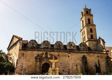 The Basilica And Monastery Of San Francisco De Asis - Havana - Cuba