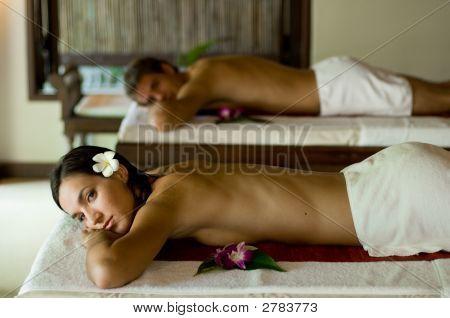 Paare Massage