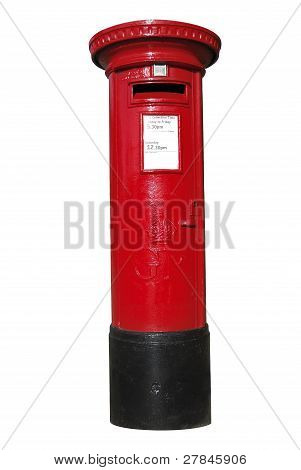 British Red Postbox