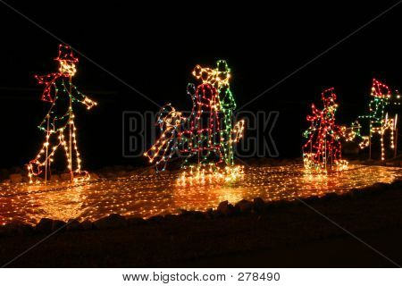 Christmas Lights Skating
