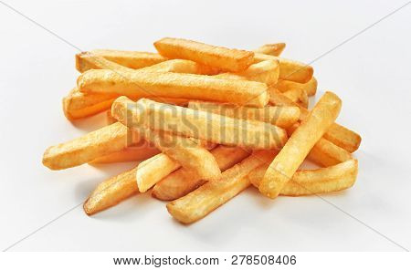 Stack Of Middle Cut French Fries
