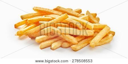 Bunch Of Fresh Deep Fried French Fries