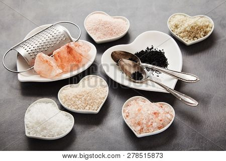 Assorted Natural Salts From Around The World