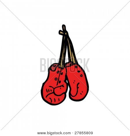 boxing gloves cartoon