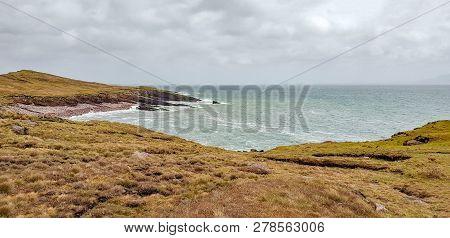 Idyllic Coastal Scenery Around Connemara, A Region In Western Ireland