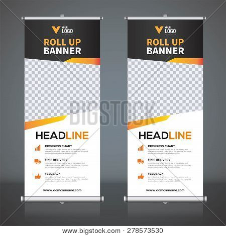 Roll Up Banner 533