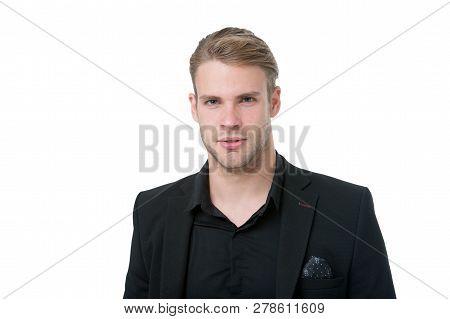 Elegance In Simplicity. Rules For Wearing All Black Clothing. Black Fashion Trend. Man Elegant Manag