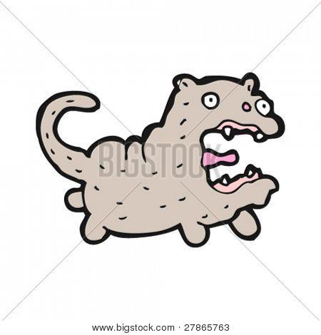 ugly cat cartoon
