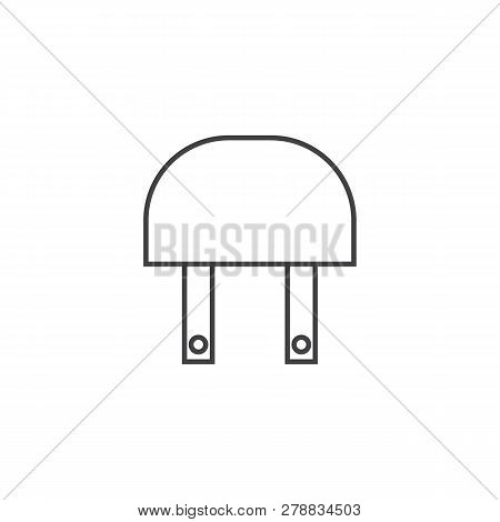 Relay Industy Outline Icon Vector Design Illustration.