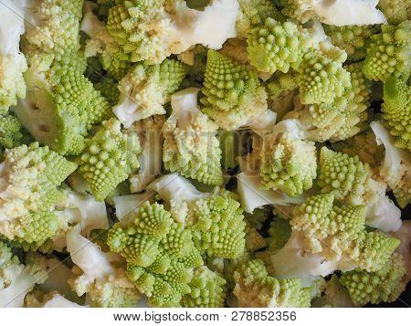 Romanesco Broccoli Vegetables Food