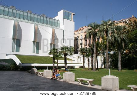 The Museum Of Thyssen-Bornemisza In Madrid