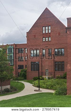 Landmark Science Hall Containing Offices And Classrooms In Milwaukee Wisconsin