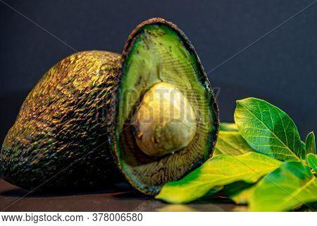 Fresh Avocado Fruit, Also Known As Avocado. Avocado Hassle. Its Peel Has A Less Smooth Texture Than