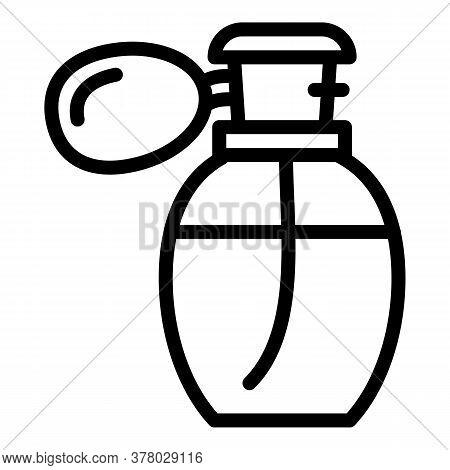 Retro Perfume Icon. Outline Retro Perfume Vector Icon For Web Design Isolated On White Background