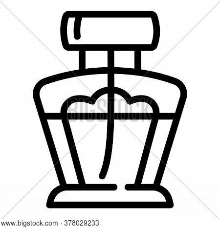 Luxury Perfume Icon. Outline Luxury Perfume Vector Icon For Web Design Isolated On White Background