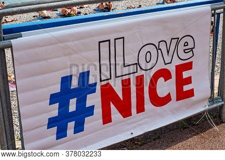 The City Of Nice At The Cote D Azur - Nice, France - July 10, 2020