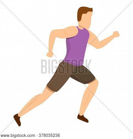 Tracker Morning Running Icon. Cartoon Of Tracker Morning Running Vector Icon For Web Design Isolated